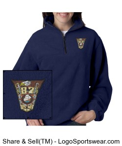 Embroidered Class Crest Fleece Design Zoom