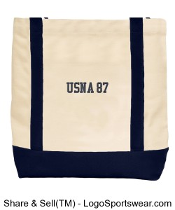 USNA87 canvas carryall Design Zoom