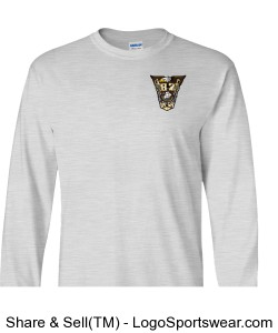 Class Crest Adult Long Sleeve T Design Zoom