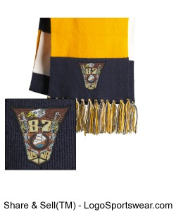 87Crest fan scarf Design Zoom