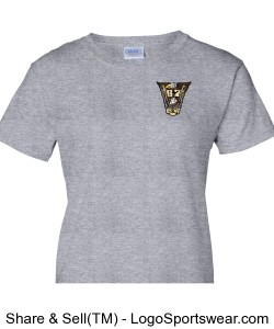 Class Crest Grey Ladies T Design Zoom